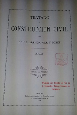 Nuevo libro en la biblioteca del Colegio: Tratado de Construcción Civil
