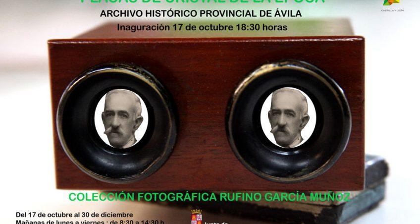 """Exposición """"Placas de cristales de la época, colección fotográfica Rufino García Muñoz"""""""