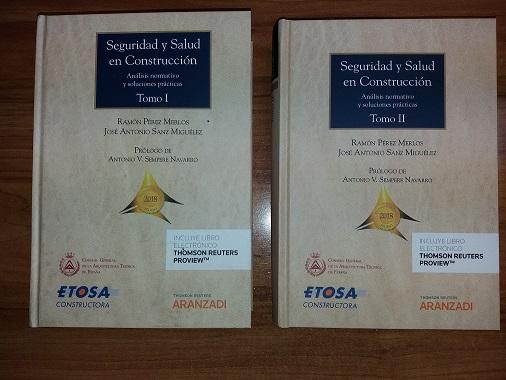 Libros seguridad y salud en construcción