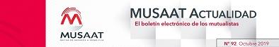 Musaat Actualidad (boletín electrónico mutualistas)