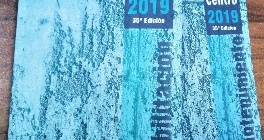 """""""Precio de la construcción centro 2019"""" – 35ª edición"""