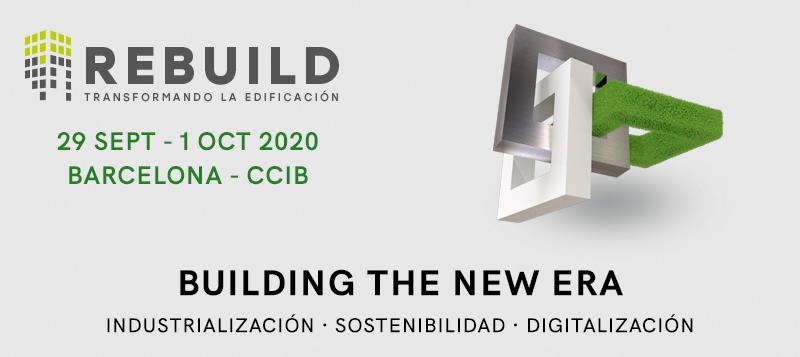 Los líderes de la nueva edificación se reúnen en REBUILD 2020,