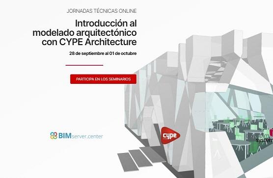 Jornada Introducción al modelado arquitectónico con CYPE Archtecture
